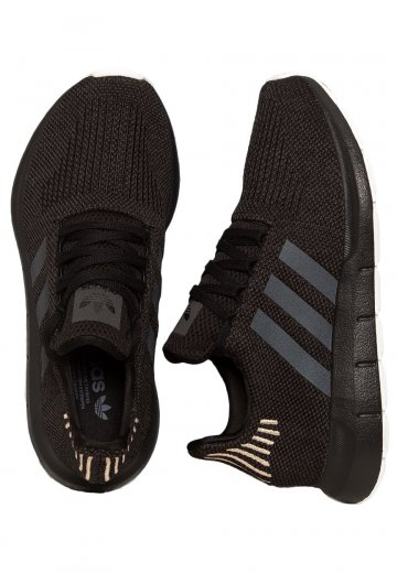 on sale 96cc4 f3825 Adidas - Swift Run W Core BlackCarbonFtwr White - Girl Shoes -  Impericon.com AU