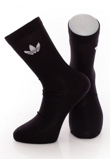 Adidas - Thin Trefoil Black - Socks
