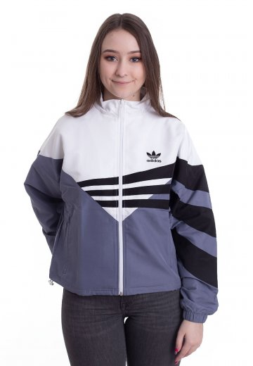e8b0d9b16d80 Adidas - Track Top Rawind White Black - Track Jacket - Streetwear Shop -  Impericon.com UK