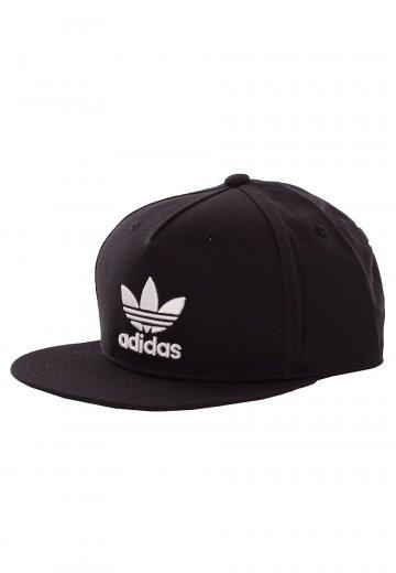 c587e172 Adidas - Trefoil Flat Black - Cap - Streetwear Shop - Impericon.com UK