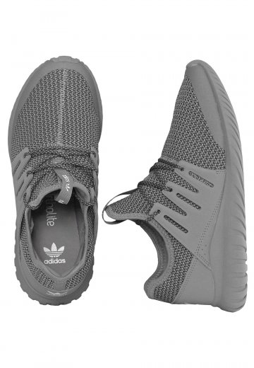 outlet store sale ca9aa 33f3e Adidas - Tubular Radial J Ch Solid Grey/Dgh Solid Grey/Vintage White - Girl  Shoes