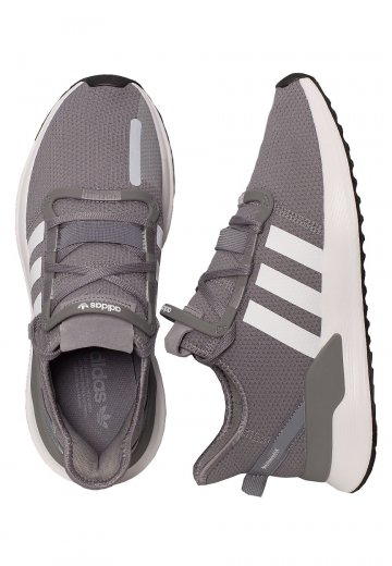 Adidas U_Path Run GreyFtw WhiteCore Black Shoes