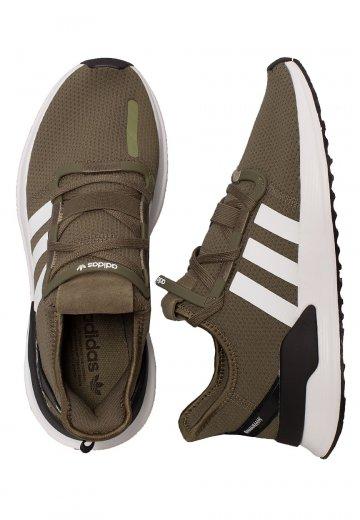 Khakiftw Adidas path Run U Shoes Whitecore Black DYWE92eHI