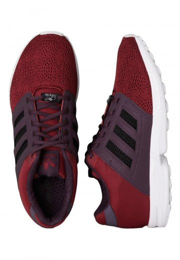 online store ada3f 0fb27 Adidas - ZX Flux 2.0 Cardinal/Black/Rich Red - Shoes