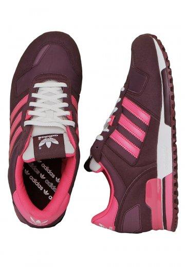518e49b11d30 Adidas - ZX 700 Light Maroon White Vapour Super Pink - Girl Shoes -  Impericon.com US