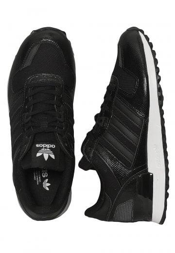 Adidas ZX 700 W Core BlackCore BlackFtwr White Girl Shoes