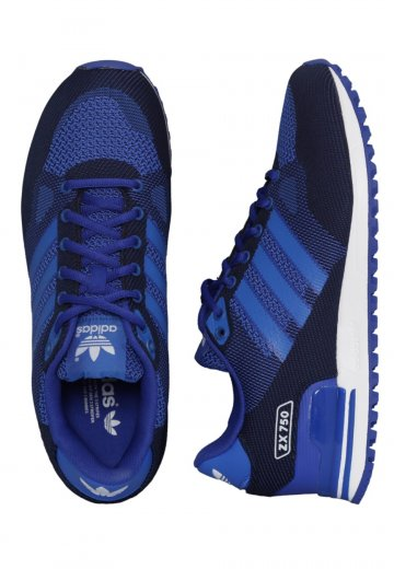 Adidas WV 750 Bold ZX White Shoes BlueBlueFtwr KFJc1l