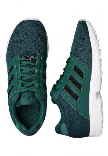 4b2cf7b61f42f Adidas - ZX Flux 2.0 Forest Black Rich Green - Shoes - Impericon.com AU
