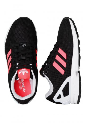 the latest 1ce19 fb179 Adidas - ZX Flux Core Black/Flash Red/Ftwr White - Girl Shoes
