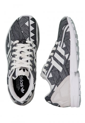 Adidas - ZX Flux Off White/Graphic - Girl Shoes