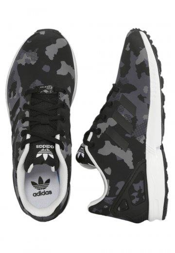 premium selection 84c78 cfa0a Adidas - ZX Flux J Core Black/Core Black/FTWR White - Girl Shoes