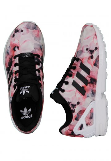 wholesale dealer 327c9 642b6 Adidas - ZX Flux K Core Black/Core Black/Ftwr White - Girl Shoes