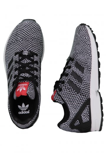 bb6da5d390 Adidas - ZX Flux K Core Black/Core Black/Tomato - Girl Shoes