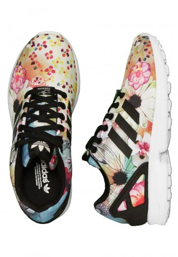 95f33e52dcf6a Adidas - ZX Flux W Core Black Core Black Ftwr White - Girl Shoes ...