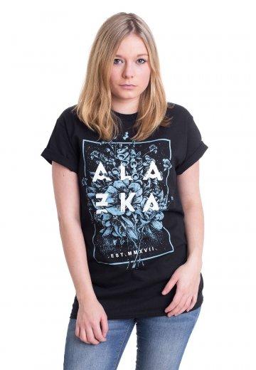 Alazka - Flower Frame - T-Shirt