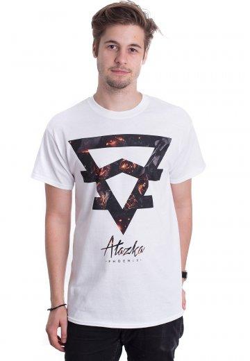 Alazka - Symbol Roses White - T-Shirt