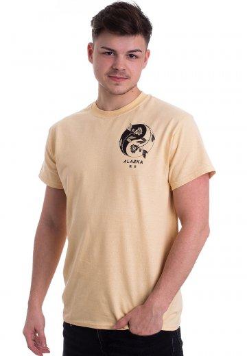 Alazka - Yin Yang Vegas Gold - T-Shirt