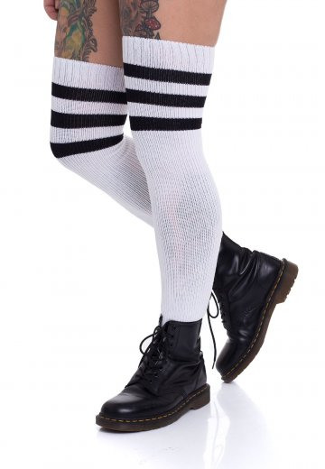 cb17a15c5 American Socks - Old School Ultra High White Black - Socks ...