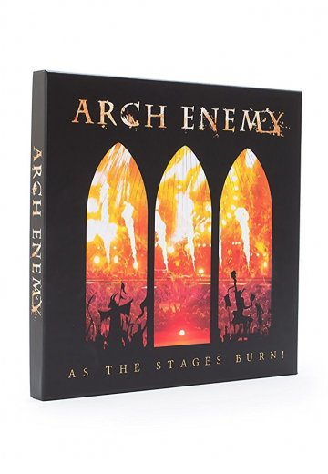 Arch Enemy - As The Stages Burn! Ltd. Deluxe - Box Set