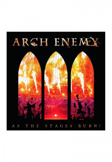 Arch Enemy - As The Stages Burn! Special Edition - Digipak CD + DVD