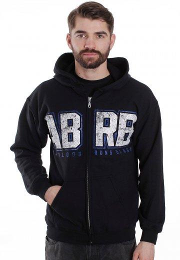 As blood runs black logo hoodie — photo 1