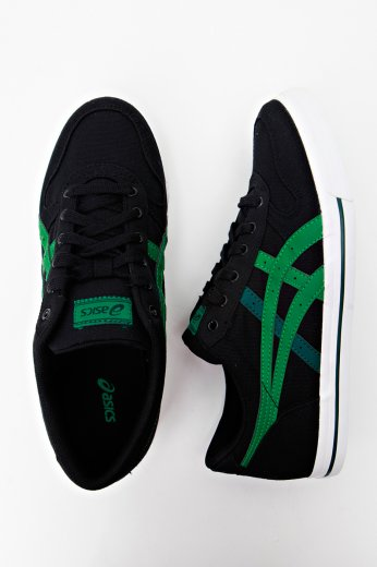 latest discount rich and magnificent best selection of 2019 Asics - Aaron CV Black/Green - Shoes