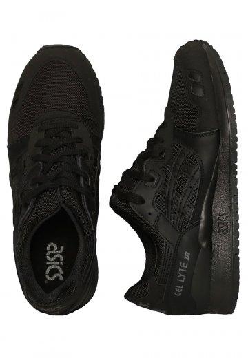 sale retailer c41e3 c3b88 Asics - Gel-Lyte III Black/Black - Shoes