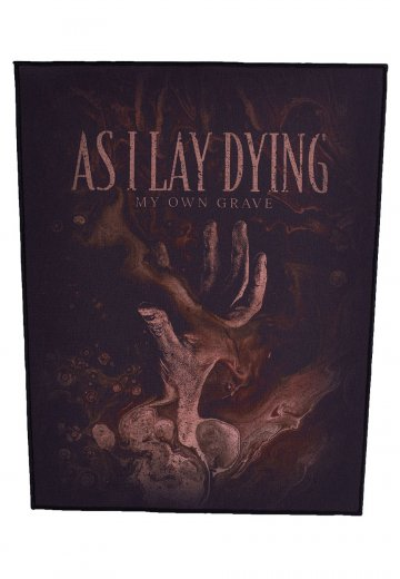 As I Lay Dying - My Own Grave - Backpatch