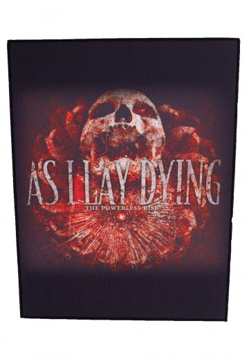 As I Lay Dying - The Powerless Rise - Backpatch