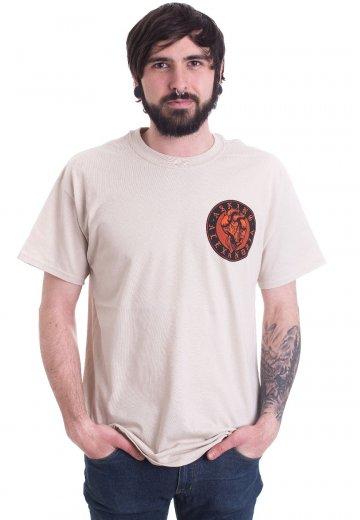 Asking Alexandria - Heartskull Tan - T-Shirt