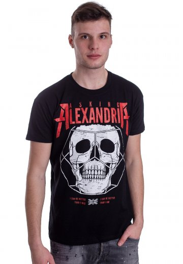 Asking Alexandria - Hexed Skull - T-Shirt
