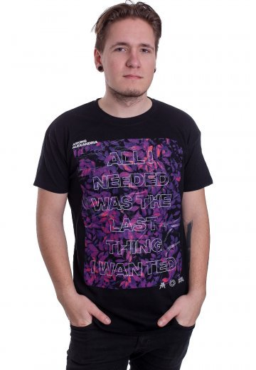 Asking Alexandria - Room Floral - T-Shirt