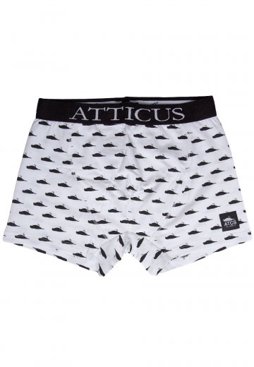 Atticus - All Over Fitted White - Boxershorts