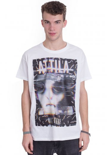 Attila - Invader White - T-Shirt