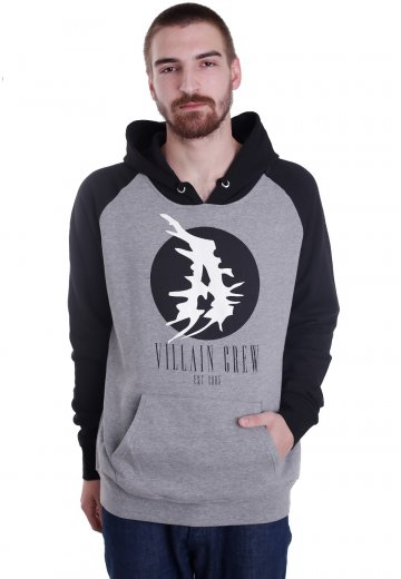 Attila - Villain Crew Sportsgrey/Black - Hoodie