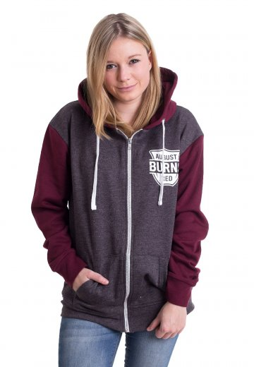 August Burns Red - Angry Music Charcoal/Burgundy - Zipper