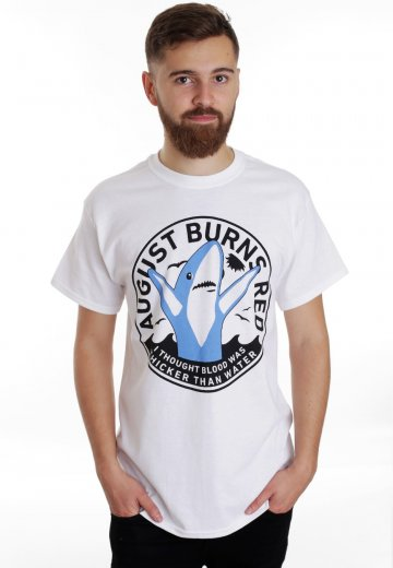 August Burns Red - Left Shark White - T-Shirt