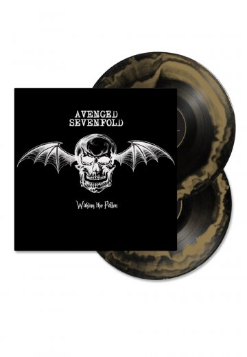 Avenged Sevenfold - Waking The Fallen Gold Black Smash - Colored 2 LP