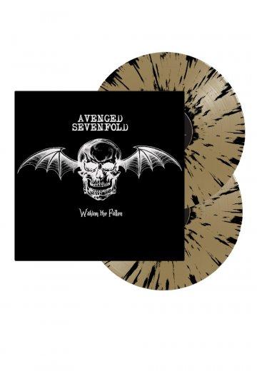 Avenged Sevenfold - Waking The Fallen Gold Black Splatter - Colored 2 LP
