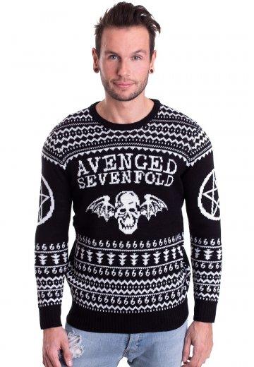 Christmas Sweater.Avenged Sevenfold Ugly Christmas Sweater
