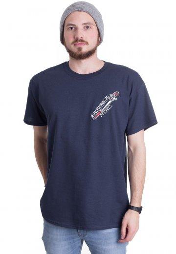 Backtrack - Twist The Knife Navy - T-Shirt