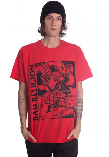 Bad Religion - Television Red - T-Shirt
