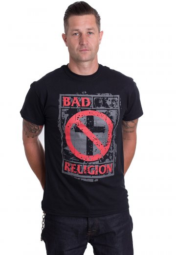 Bad Religion Herrenmode Unrest T-shirt