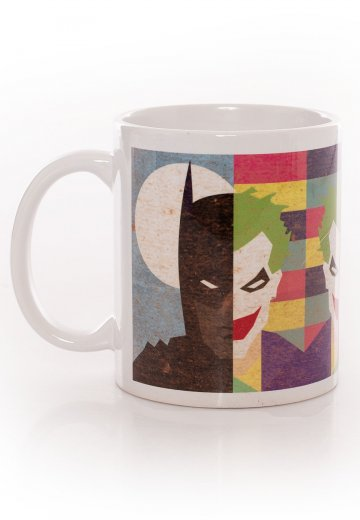 Batman - Face Half Half - Mug