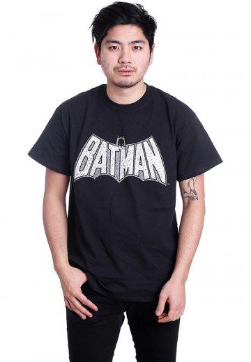 Batman - Retro Crackle Logo - T-Shirt