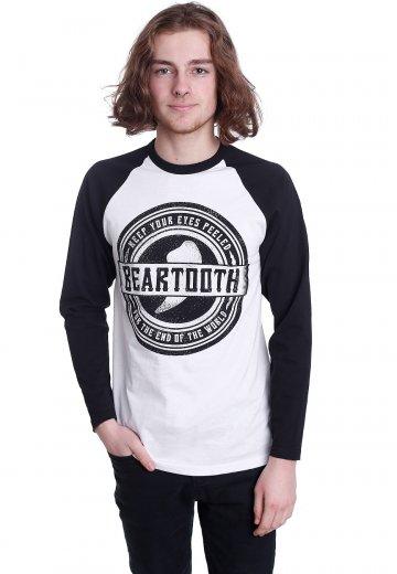 Beartooth - Keep Your Eyes Peeled White/Black - Longsleeve