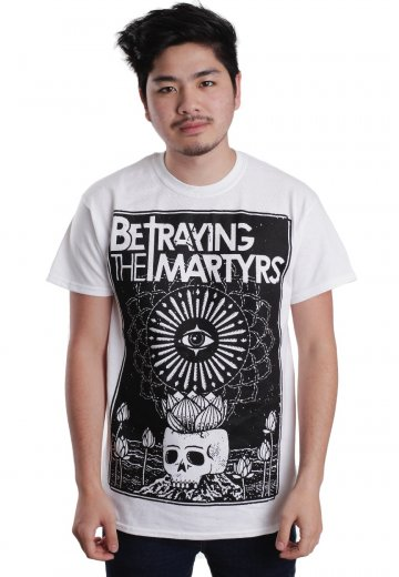 Betraying The Martyrs - Lotuseye White - T-Shirt