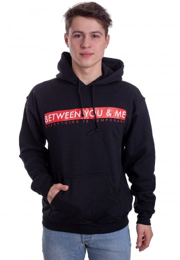 Between You & Me - Box Logo - Hoodie