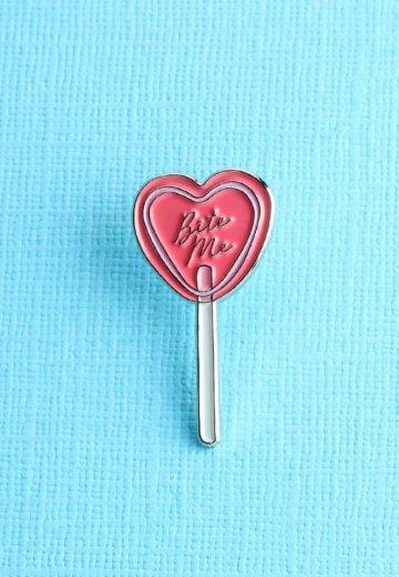 Punky Pins - Bite Me Lollipop Enamel - Pin