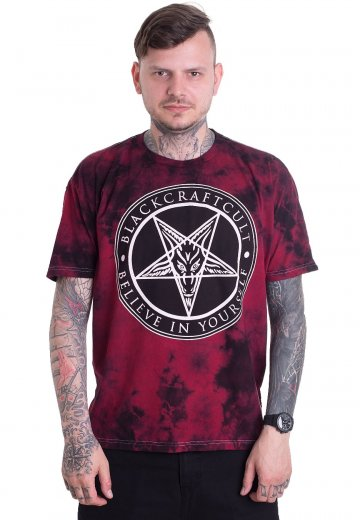 6429cab1e075 Black Craft Cult - Believe In Yourself Blood Moon Dye - T-Shirt -  Streetwear Shop - Impericon.com UK